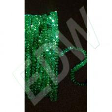Flitterbortni hologramos 1 soros-zöld 550 Ft/m