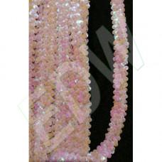Flitterbortni 2 soros-rózsaszín/homok 650 Ft/m