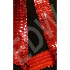 Flitterbortni 5 soros-piros 1100 Ft/m